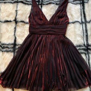 Slate & Willow Metallic Dress